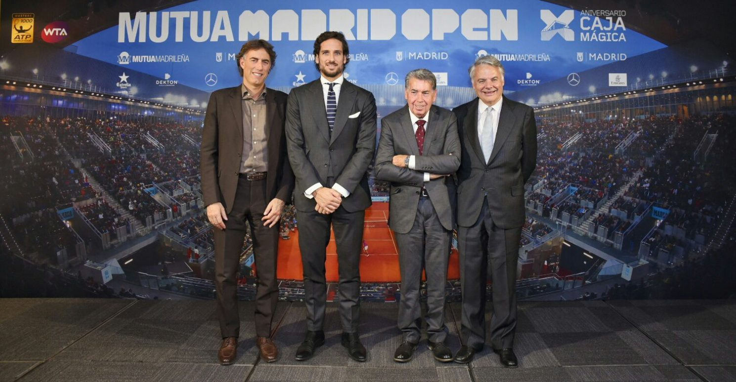 Feliciano Lopez is Being Groomed to Take over as Madrid Tournament Director