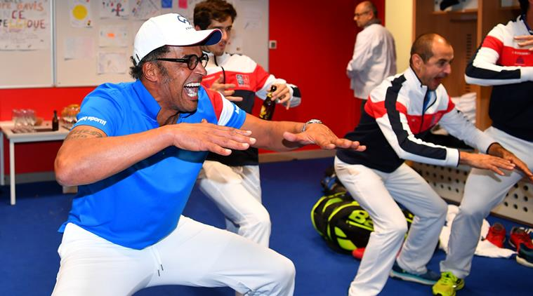 Yannick Noah to Return as France's Captain for 2018 Davis Cup
