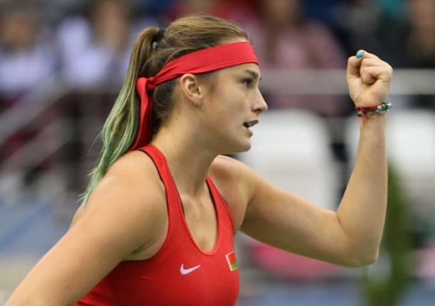 Sabalenka Brings Belarus Level with Team USA in Fed Cup Final