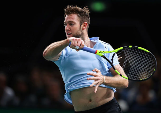 Sock Stops Benneteau to Move One Win from London