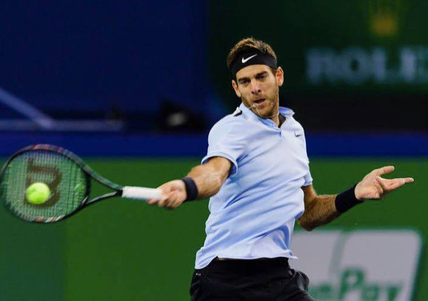 Del Potro Reaches Third Straight Semifinal In Basel