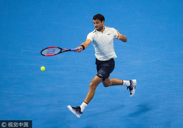 Dimitrov Squeezes Past Janowicz In Stockholm