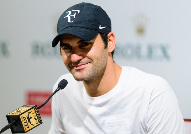 Federer To Face Del Potro in Shanghai Semifinals