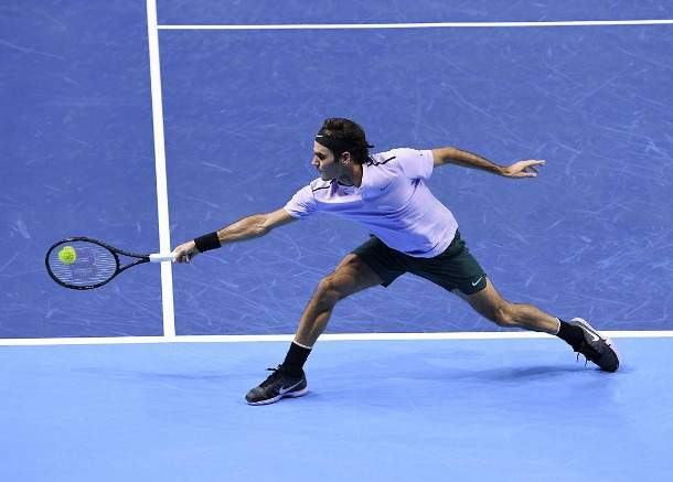 Federer Races Past Goffin, Setting Popcorn Final with Del Potro