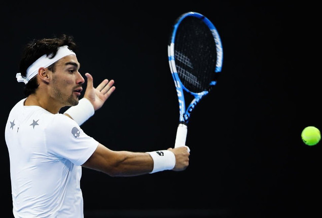 Fognini Tops Pouille, Awaits Nadal in Shanghai