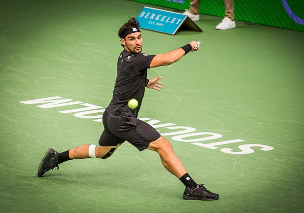 Fognini To Face Dimitrov in Stockholm Semifinals