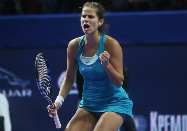 Goerges Soars To Third Career Title in Moscow