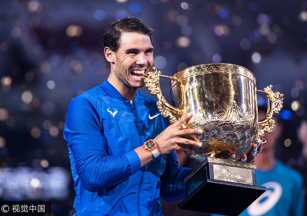 Nadal Crushes Kyrgios for 75th Career Title