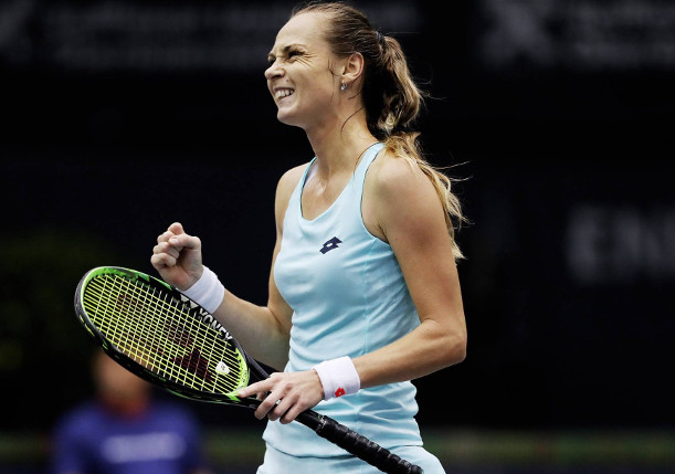 Rybarikova Repels Sharapova in Moscow