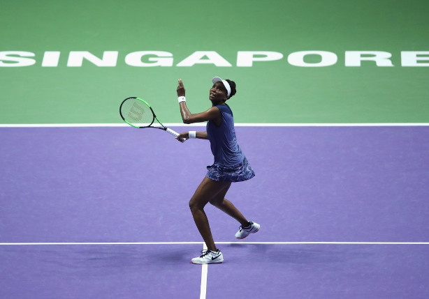 Venus Tops Muguruza, Joins Pliskova in Singapore Semifinals