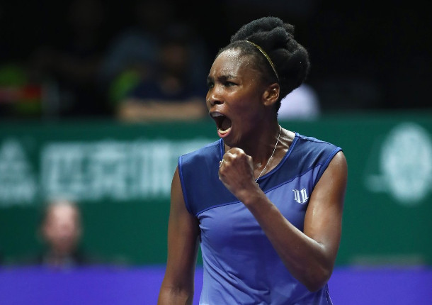 Venus Fights Off Ostapenko in WTA Finals Thriller