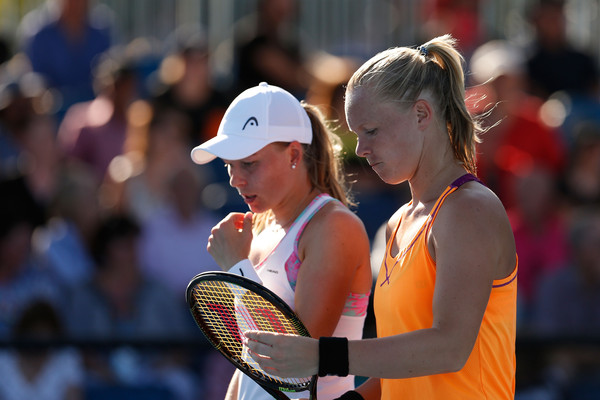 Bertens and Larsson Round out WTA Finals Doubles Field
