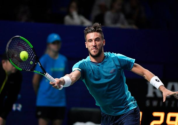 Dzumhur Wins Historic Semi and Will Face Berankis for Moscow Title