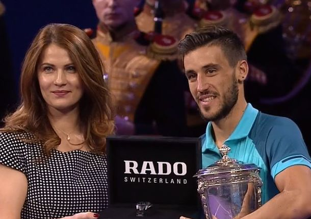 Dzumhur Completes Perfect Russian Run in Moscow