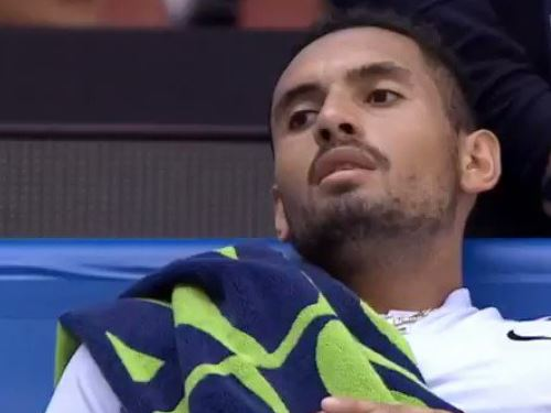 Kyrgios Sings for His Supper in Beijing