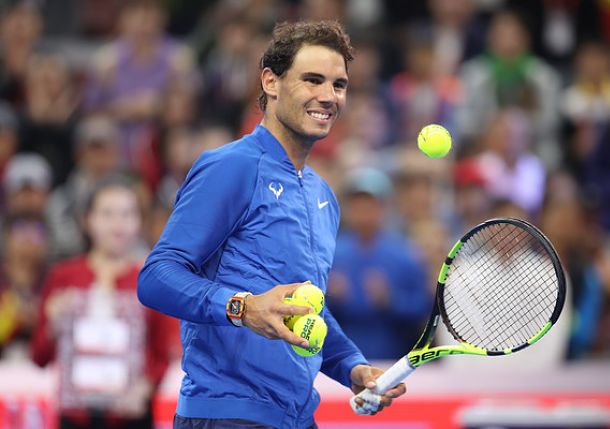 Nadal Rolls into Shanghai Showdown with Fognini