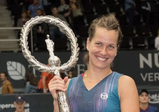 Strycova Snaps Six-Year Title Drought at Linz
