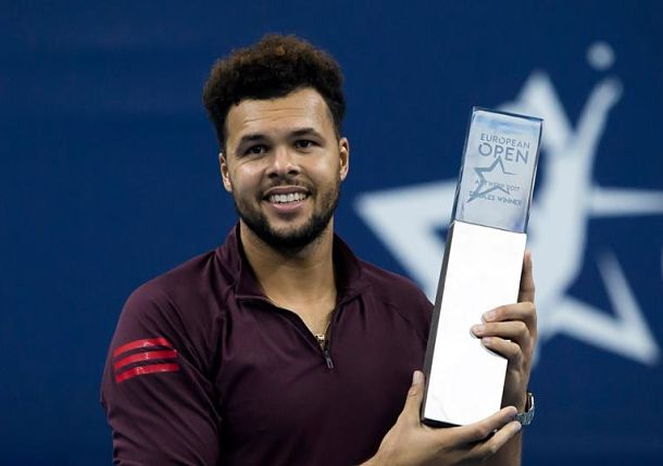 Tsonga Wins Antwerp for His Fourth Title of 2017