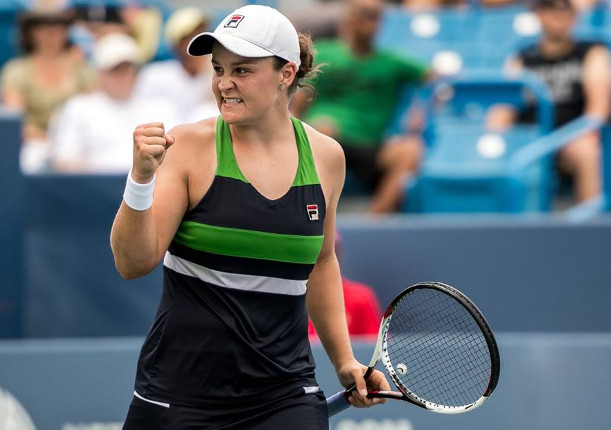 Ash Barty Takes Home Newcombe Medal