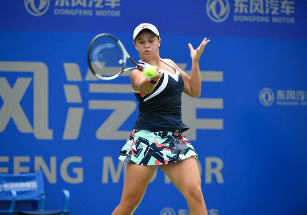 Barty Beats Konta, Stephens, Kerber Fall in Wuhan