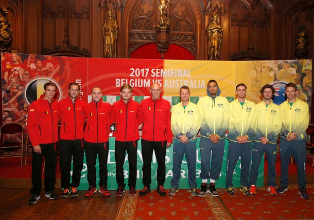 Davis Cup Draws Set For Semifinals