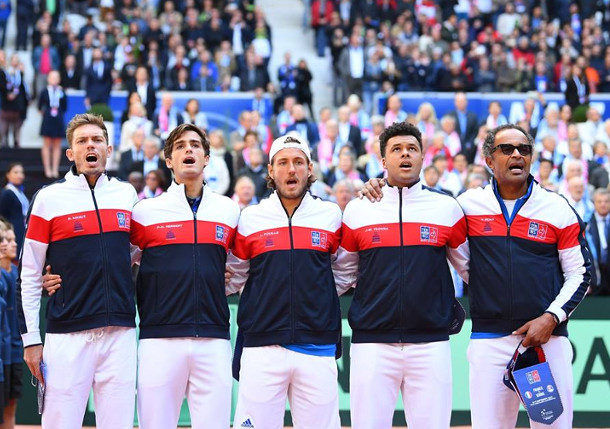 France One Win From Davis Cup Final Return