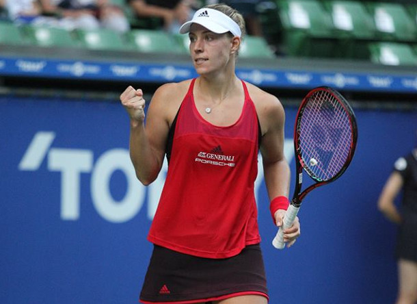 Kerber Conquers, Mladenovic Collapses In Tokyo