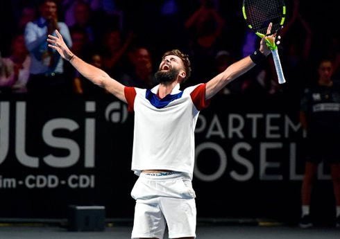 Paire To Play Gojowczyk In Metz Final