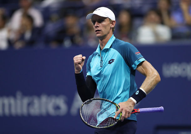 Anderson Stops Querrey and Reaches First U.S. Open Semifinal