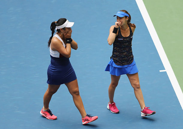 Hingis and Chan Claim U.S. Open Doubles Title