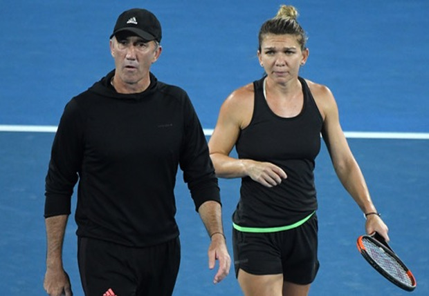 Watch: When Halep Coached Cahill