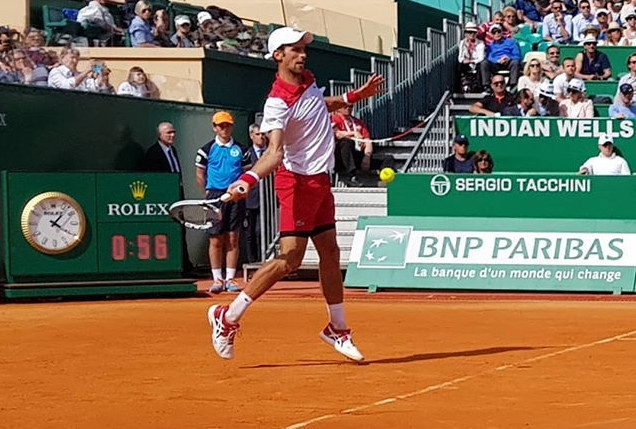 True Grit: Djokovic Fends Off Coric in Monte-Carlo