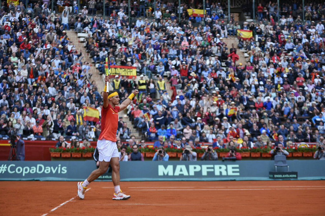 Nadal Levels For Spain with Record Davis Cup Win