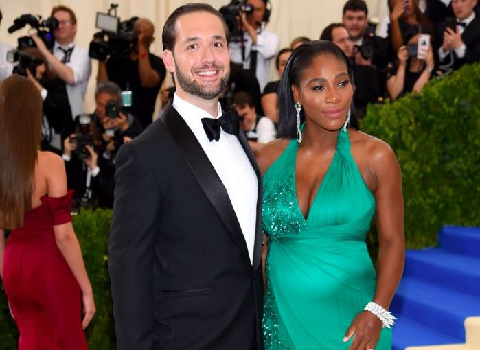 Alexis Ohanian Is Wowed by Serena Williams' Grace Under Pressure