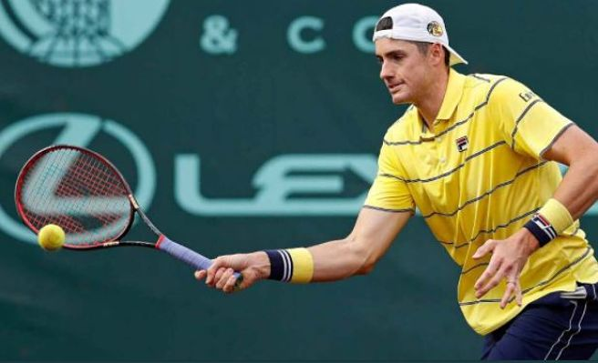 Isner Leads Quintet of Americans into Houston Quarterfinal