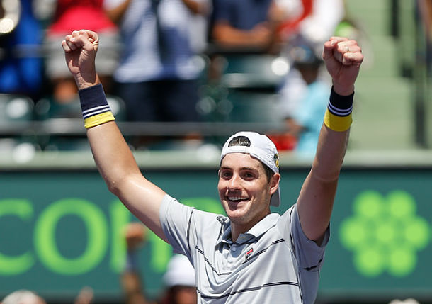 John Isner is the Master of Miami
