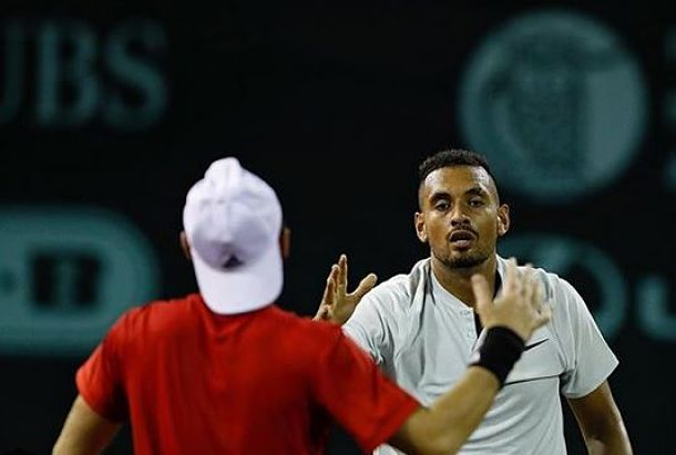 Kyrgios Comes Back to Set Karlovic Clash at Houston