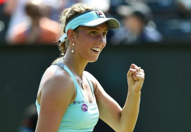 Mertens Storms into Samsung Open Final