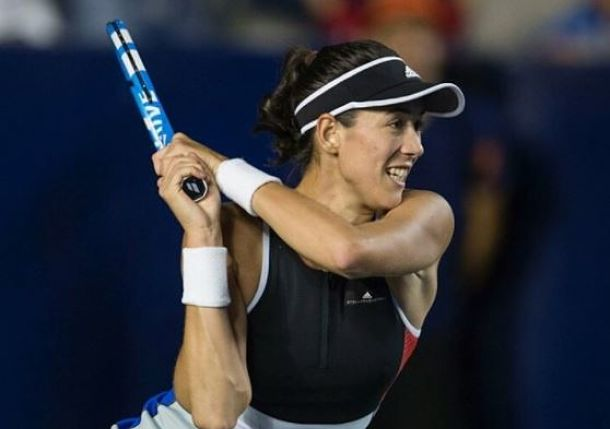 Muguruza Battles Past Babos to Claim Monterrey Title