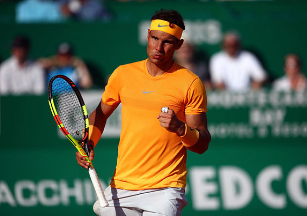 Make it 14 Straight Monte-Carlo Quarterfinals for Rafael Nadal