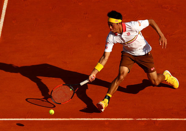 Nishikori Edges Zverev to Book Monte-Carlo Clash with Nadal