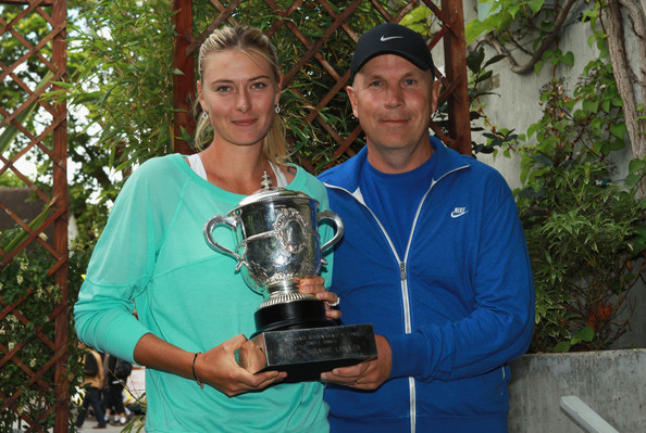 Sharapova Working With Coach Thomas Hogstedt at Stuttgart