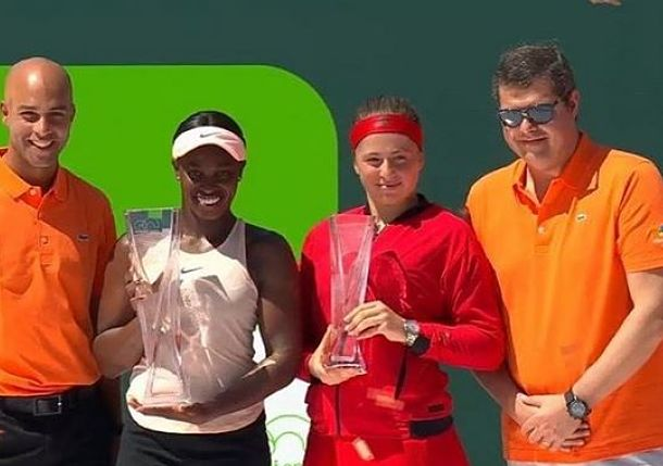 By the Numbers: Stephens and Ostapenko Rising after Women's Final in Miami