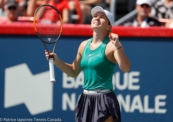 Halep Subdues Stephens In Epic Montreal Final