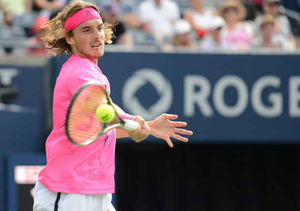 Tsitsipas Saves Match Point Charges Into Toronto Final Tennis Now