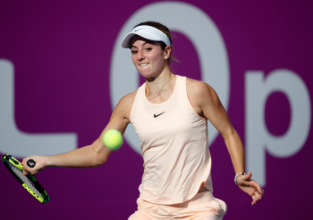 Bellis Carves Up Keys in Doha