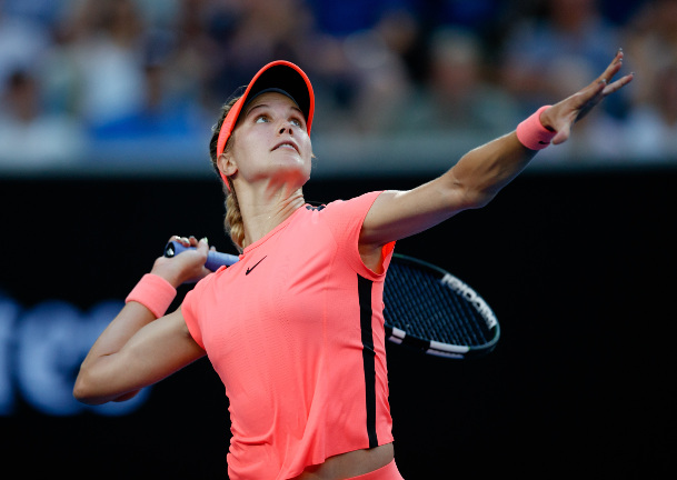 Bouchard, Linette Reach Taiwan Open Quarterfinals