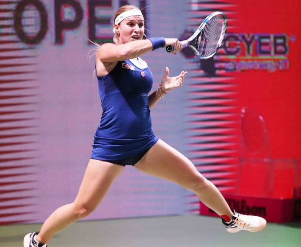 Cibulkova Cruises Into Budapest Final Four