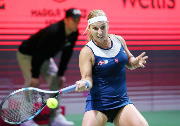 Cibulkova Blasts Into Budapest Final