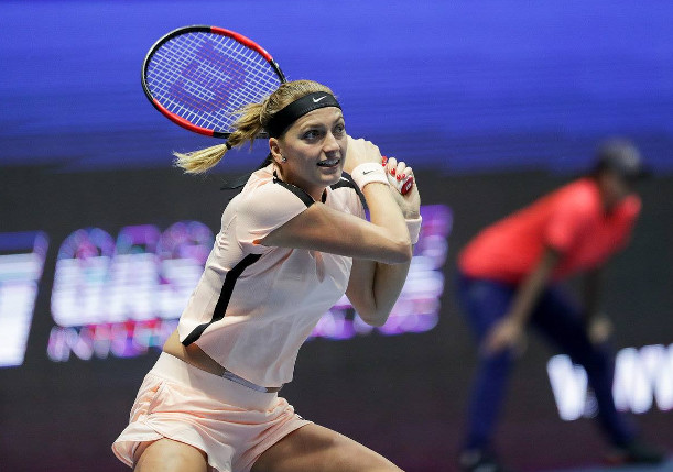 Kvitova Tops Goerges, Into St. Petersburg Final